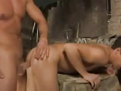 Hot Stuf fucks a boy (BAREBACK)